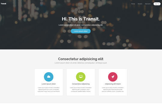12 Free And Fresh HTML5 Web Templates 13