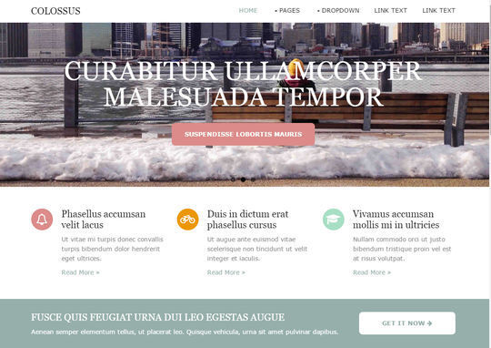 12 Free And Fresh HTML5 Web Templates 4