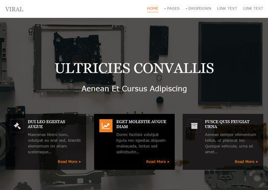 12 Free And Fresh HTML5 Web Templates 6