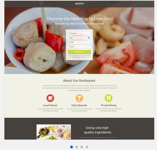 12 Free And Fresh HTML5 Web Templates 7