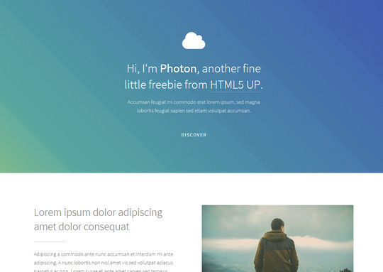 12 Free And Fresh HTML5 Web Templates 8