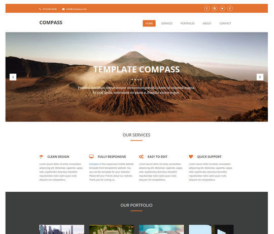 12 Free And Fresh HTML5 Web Templates 10