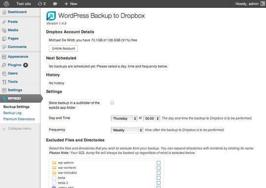 8 Best Free Backup Plugins For WordPress 2