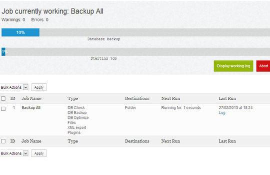 8 Best Free Backup Plugins For WordPress 4