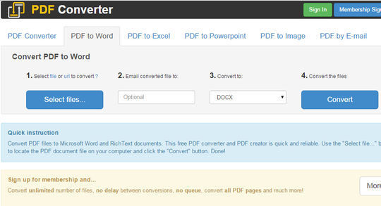 8 Free Tools That Convert PDF To Word 8
