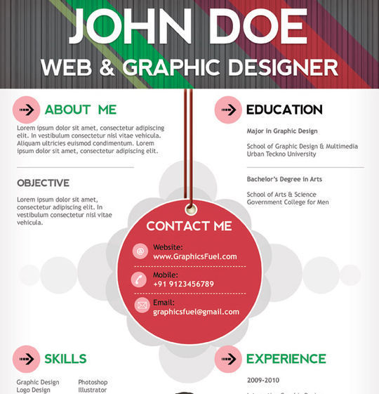 10 Creative Free Resume Templates To Download 2