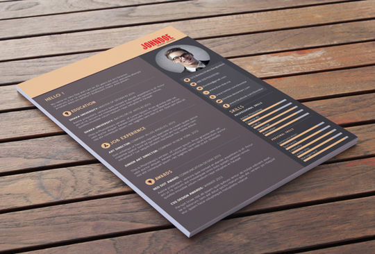 10 Creative Free Resume Templates To Download 3