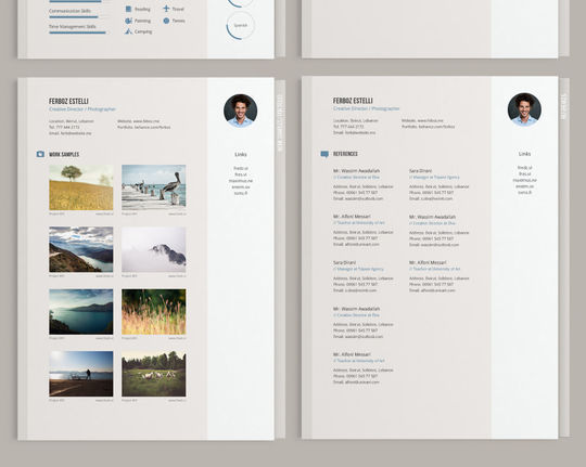 10 Creative Free Resume Templates To Download 10