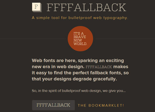11 Web Typography Tools & Libraries 12