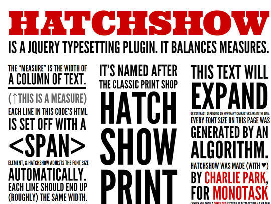 11 Web Typography Tools & Libraries 1