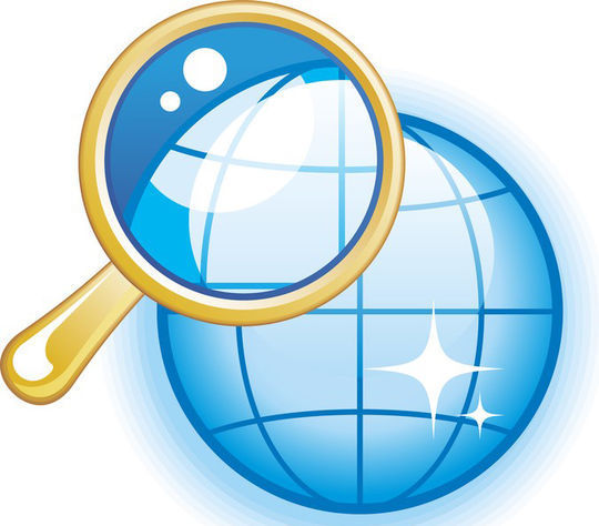 10 Free Magnifying Glass Search Icons (.AI & PSD) 4