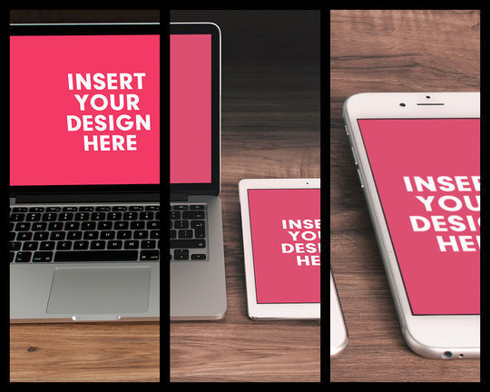 11 Free Apple Devices Mockup PSD Designs 87