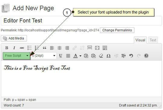 7 Plugins To Integrate Google Web Fonts In WordPress 4