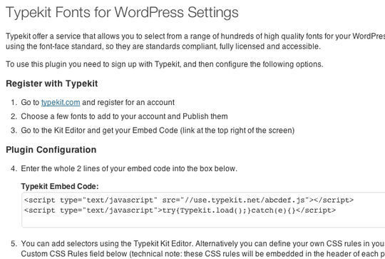 7 Plugins To Integrate Google Web Fonts In WordPress 5