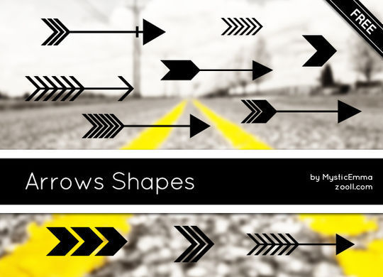 14 Photoshop Custom Shapes Free Download 1