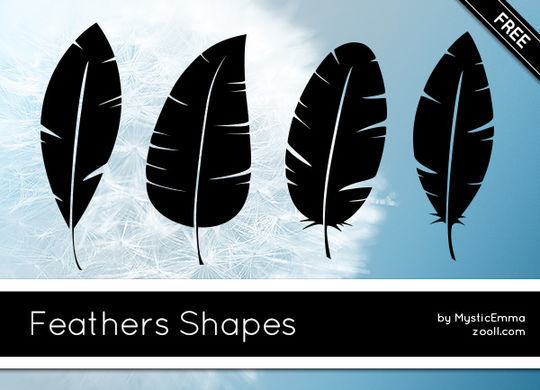 14 Photoshop Custom Shapes Free Download 15
