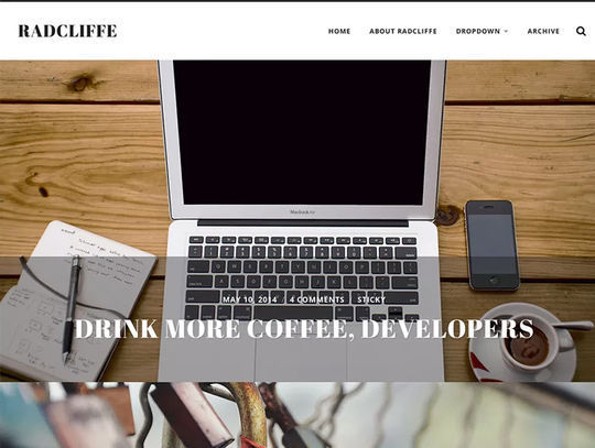 11 Free Fresh HTML5 & Responsive WordPress Themes 12