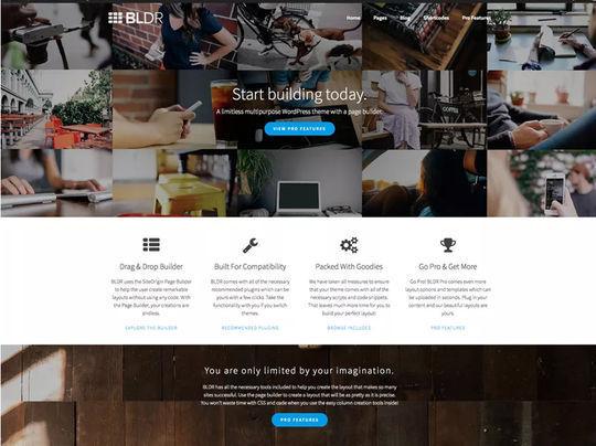 11 Free Fresh HTML5 & Responsive WordPress Themes 3