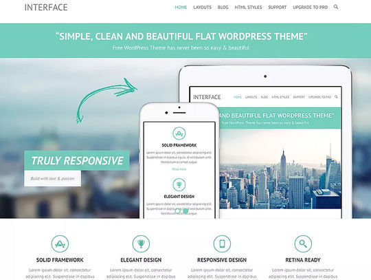 11 Free Fresh HTML5 & Responsive WordPress Themes 4