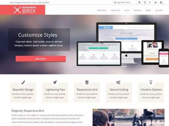 11 Free Fresh HTML5 & Responsive WordPress Themes 7