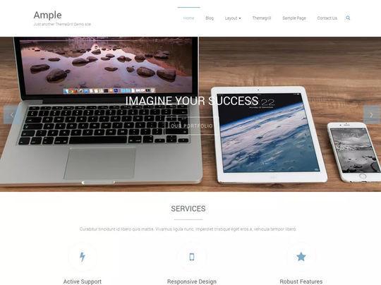 11 Free Fresh HTML5 & Responsive WordPress Themes 8