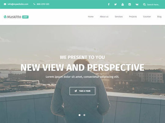 11 Free Fresh HTML5 & Responsive WordPress Themes 9