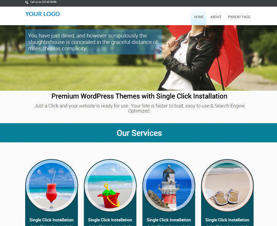12 Free Small Business Themes For Wordpress 5