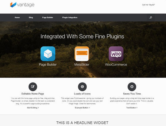12 Free Small Business Themes For Wordpress 8