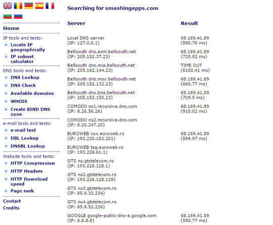 9 Sites To Check DNS Propagation 7