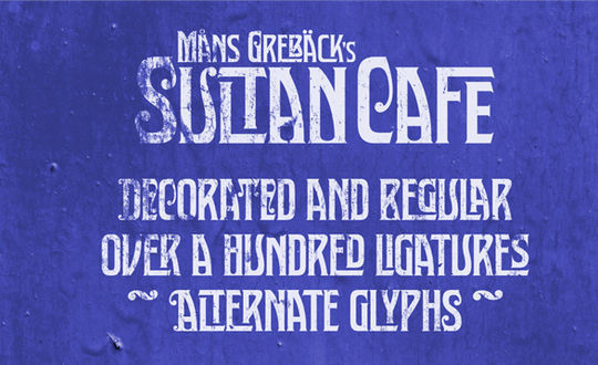 11 Awesome Free Artistic Fonts 11