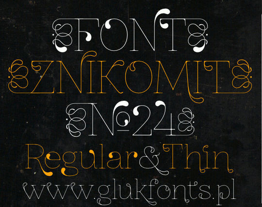 11 Awesome Free Artistic Fonts 12