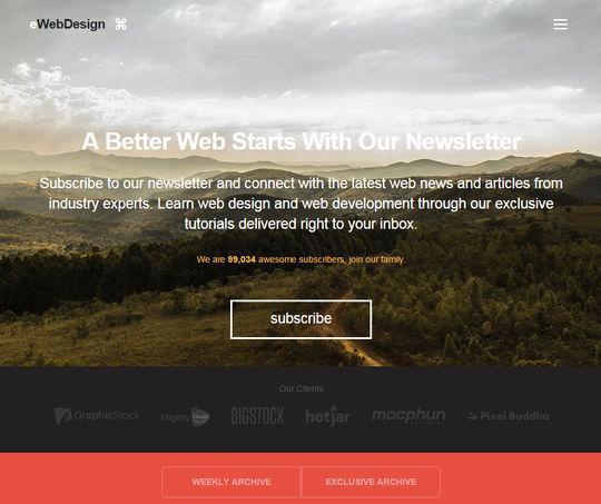 11 Interesting Examples Of Hidden Website Menus 2
