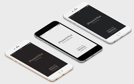11 Free iPhone 6 Mockups For App & Responsive Designs 2