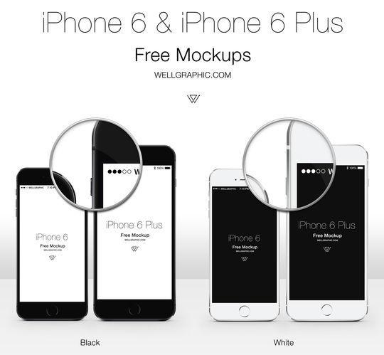 11 Free iPhone 6 Mockups For App & Responsive Designs 11