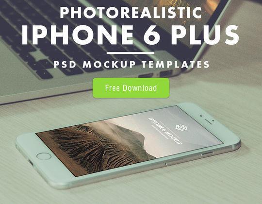 11 Free iPhone 6 Mockups For App & Responsive Designs 4