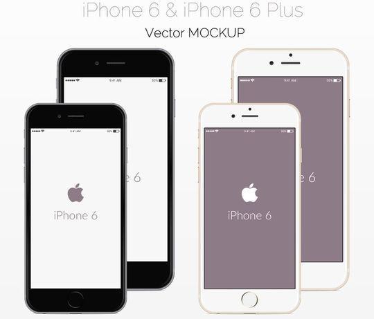 11 Free iPhone 6 Mockups For App & Responsive Designs 7