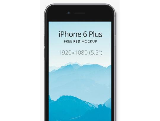 11 Free iPhone 6 Mockups For App & Responsive Designs 9
