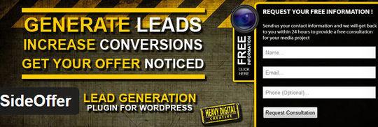 9 Free Lead-Generation Plugin for WordPress 5
