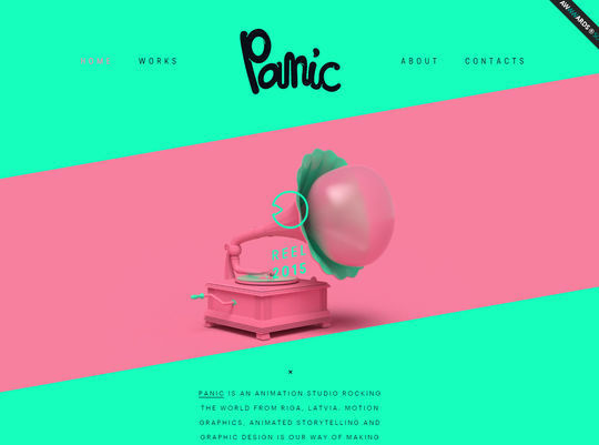 11 Examples Of Websites Designed With HTML5 12