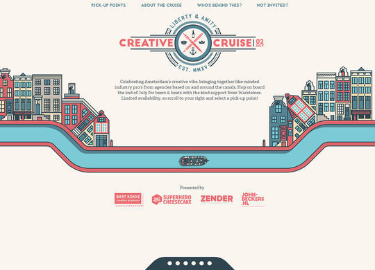 11 Examples Of Websites Designed With HTML5 8