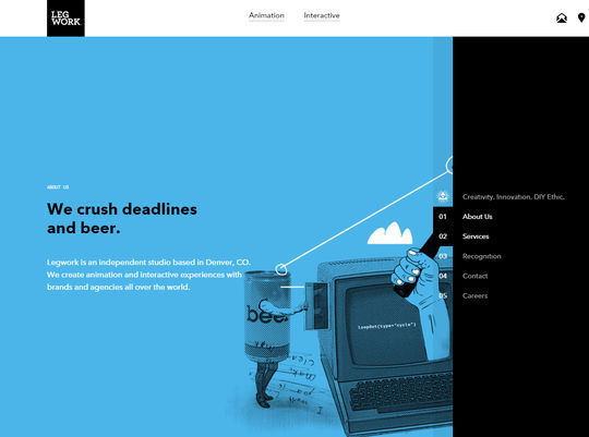 11 Examples Of Websites Designed With HTML5 10