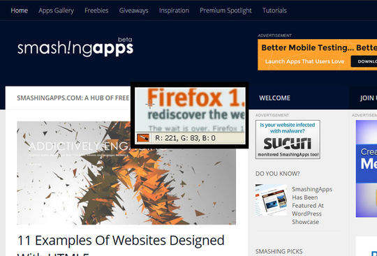 Top 12 Firefox Add-Ons For Designers & Developers 8