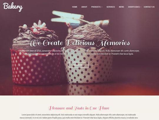 12 Free Food & Restaurant WordPress Themes 11