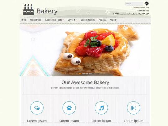12 Free Food & Restaurant WordPress Themes 13