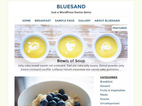 12 Free Food & Restaurant WordPress Themes 9