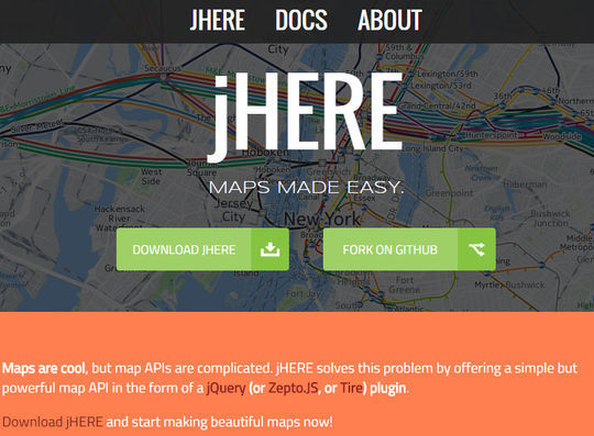 10 Free JavaScript Tools To Create Interactive Maps 5