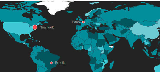 10 Free JavaScript Tools To Create Interactive Maps 6