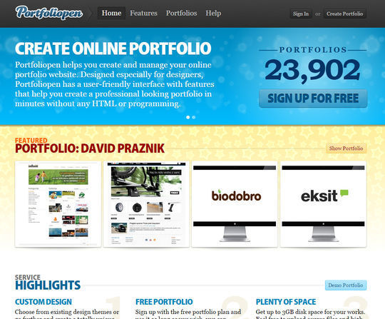 9 Free Tools to Build Your Online Portfolio 10