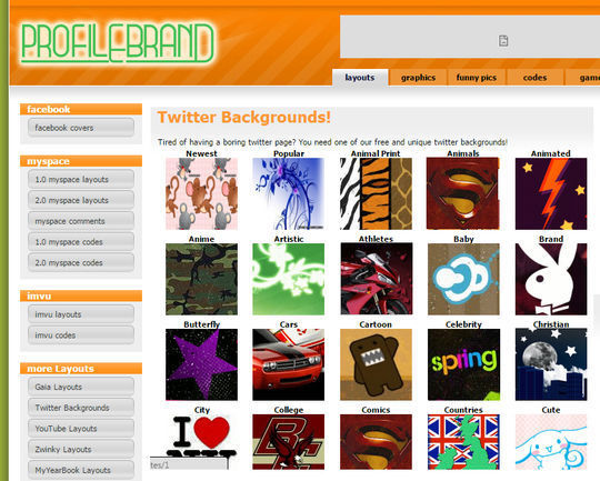 10 Free Online Tools To Spice Up Twitter Background 10