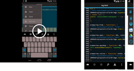 9 Android Code Editors For Mobile Developers 6